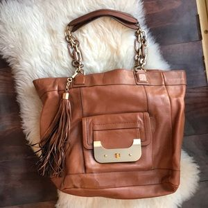 DVF Brown Tote Bag